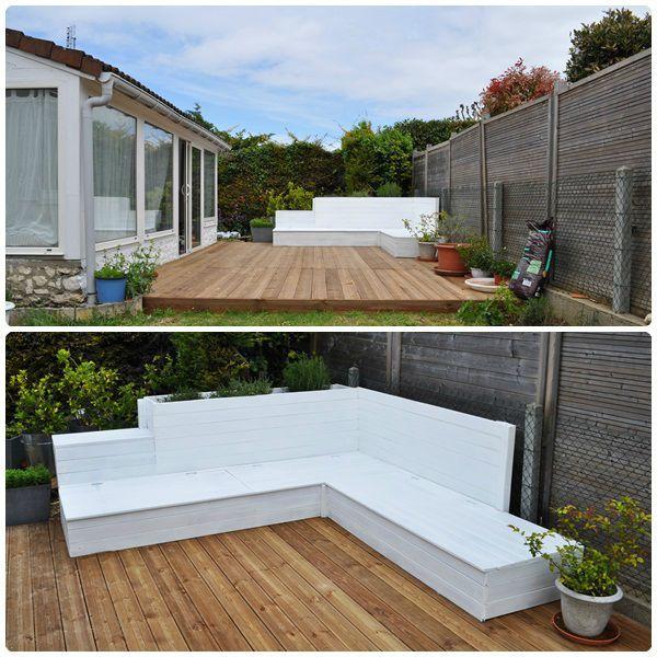 construire un salon de jardin en bois