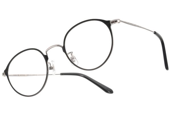 NINE ACCORD 光學眼鏡 NICRO CL1 C03 (黑-銀) 韓版文青熱銷細圓框款 平光鏡框 # 金橘