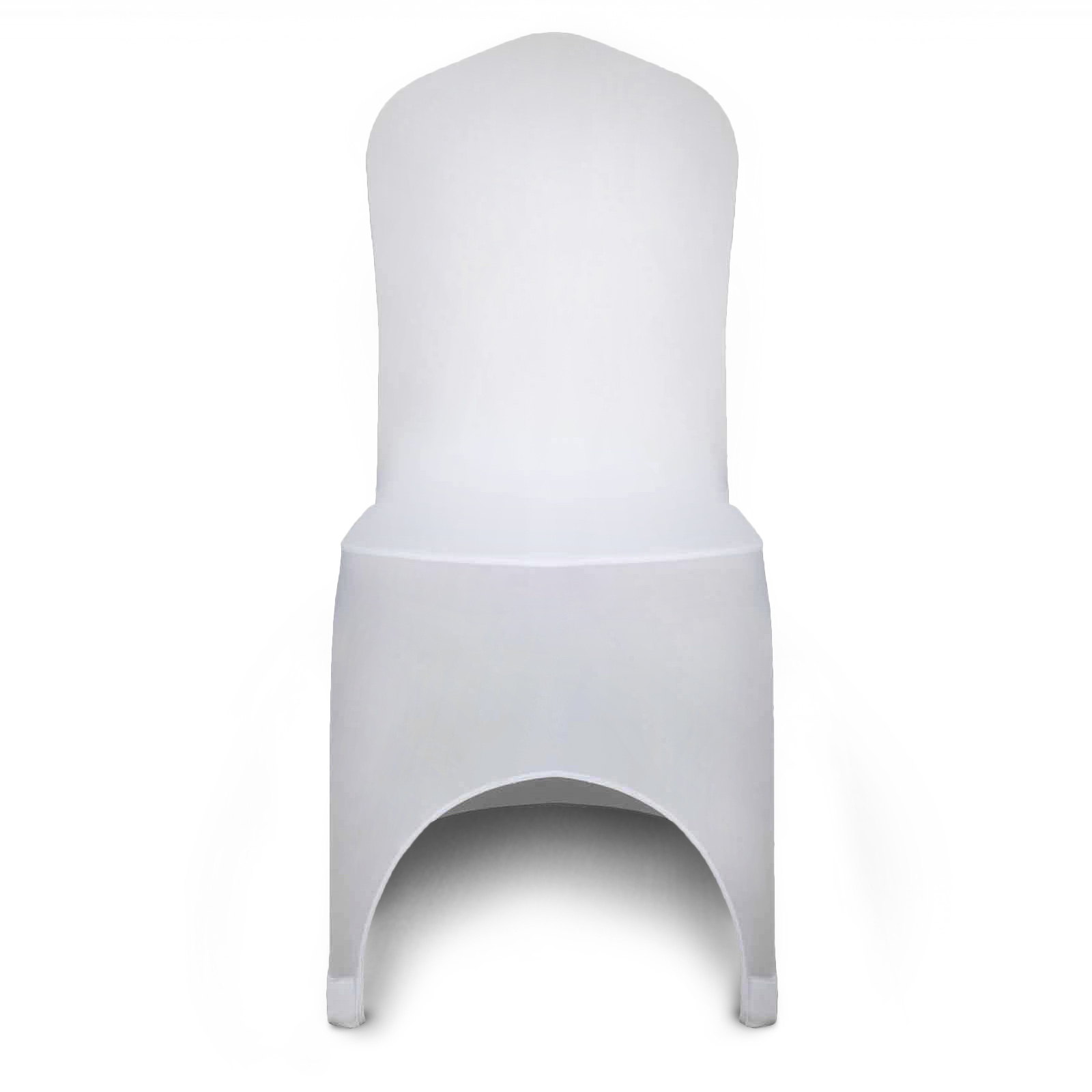 white folding chair covers ebay lifetime ivory 100pcs stretch spandex cover formal