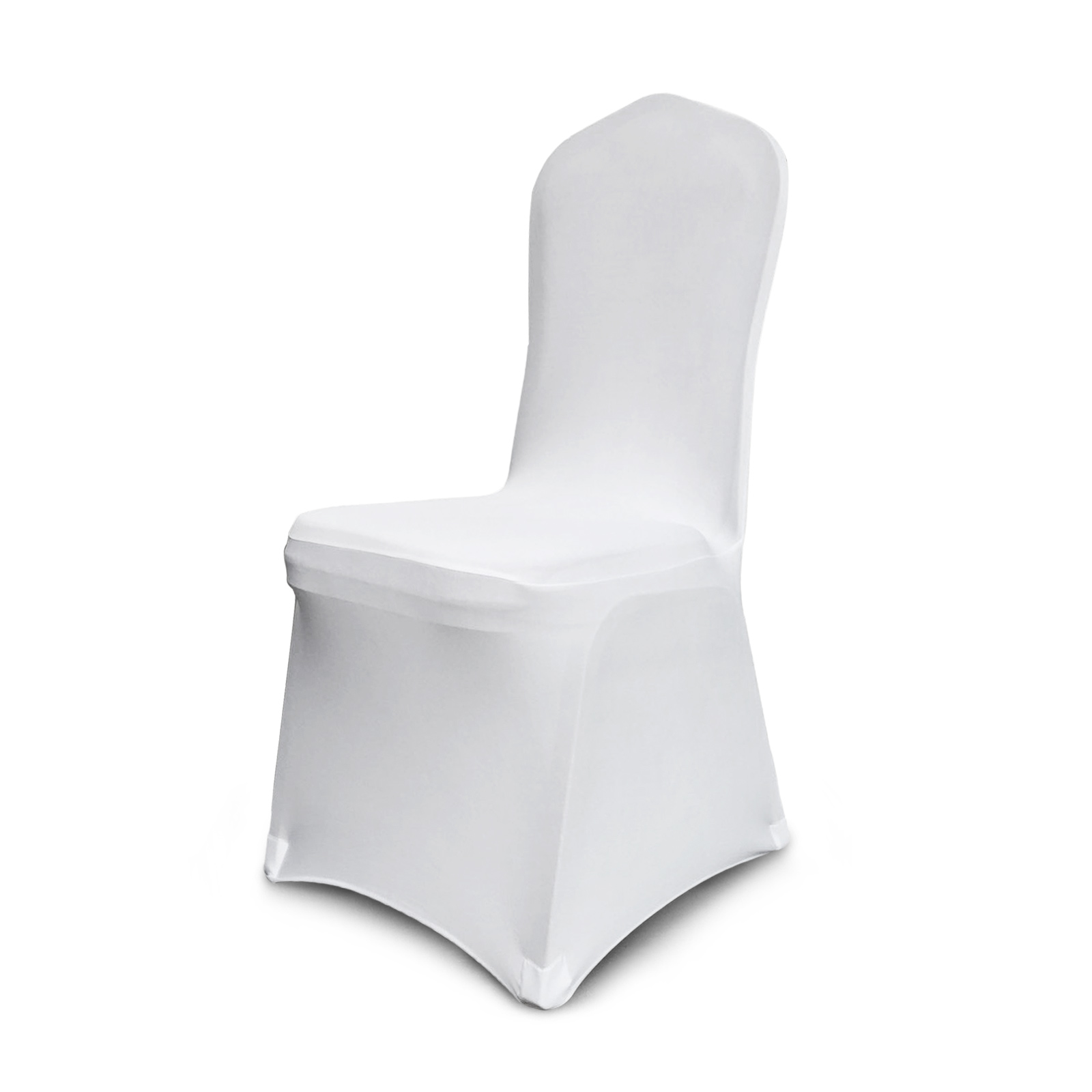 white folding chair covers ebay swivel bedroom 100pcs stretch spandex seat