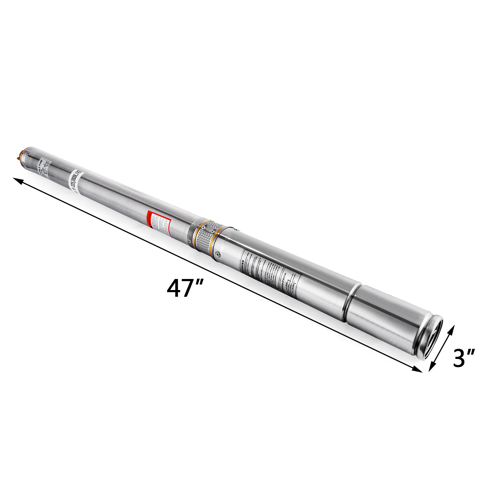 3 4 220v Stainless Steel Deep Well Water Submersible