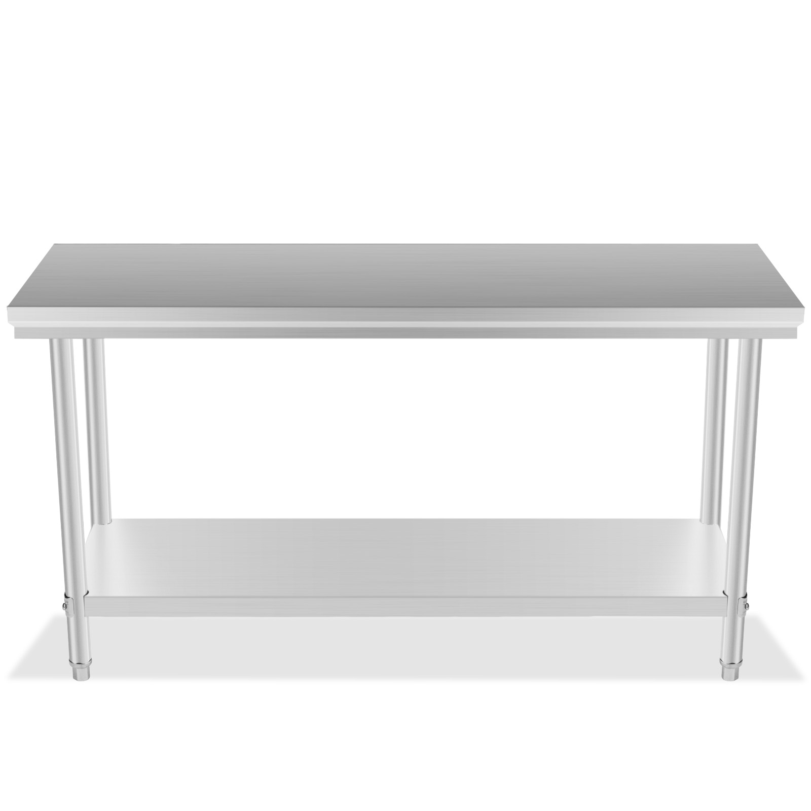 stainless steel kitchen shelf counter desk 24 and x 48 quot work prep table storage
