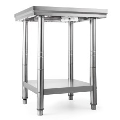 Kitchen Food Preparation Table Catskill Craftsmen Island Commercial Stainless Steel Work Bench Catering