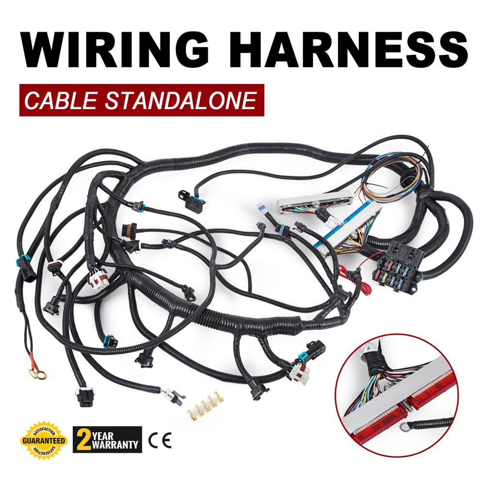 medium resolution of details about 1997 2002 dbc ls1 standalone wiring harness with t56 or non electric trans