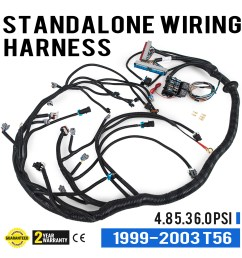 details about nice 1999 2003 dbc ls1 standalone wiring harness with t56 transmission cool [ 1600 x 1600 Pixel ]