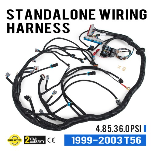 small resolution of details about nice 1999 2003 dbc ls1 standalone wiring harness with t56 transmission cool