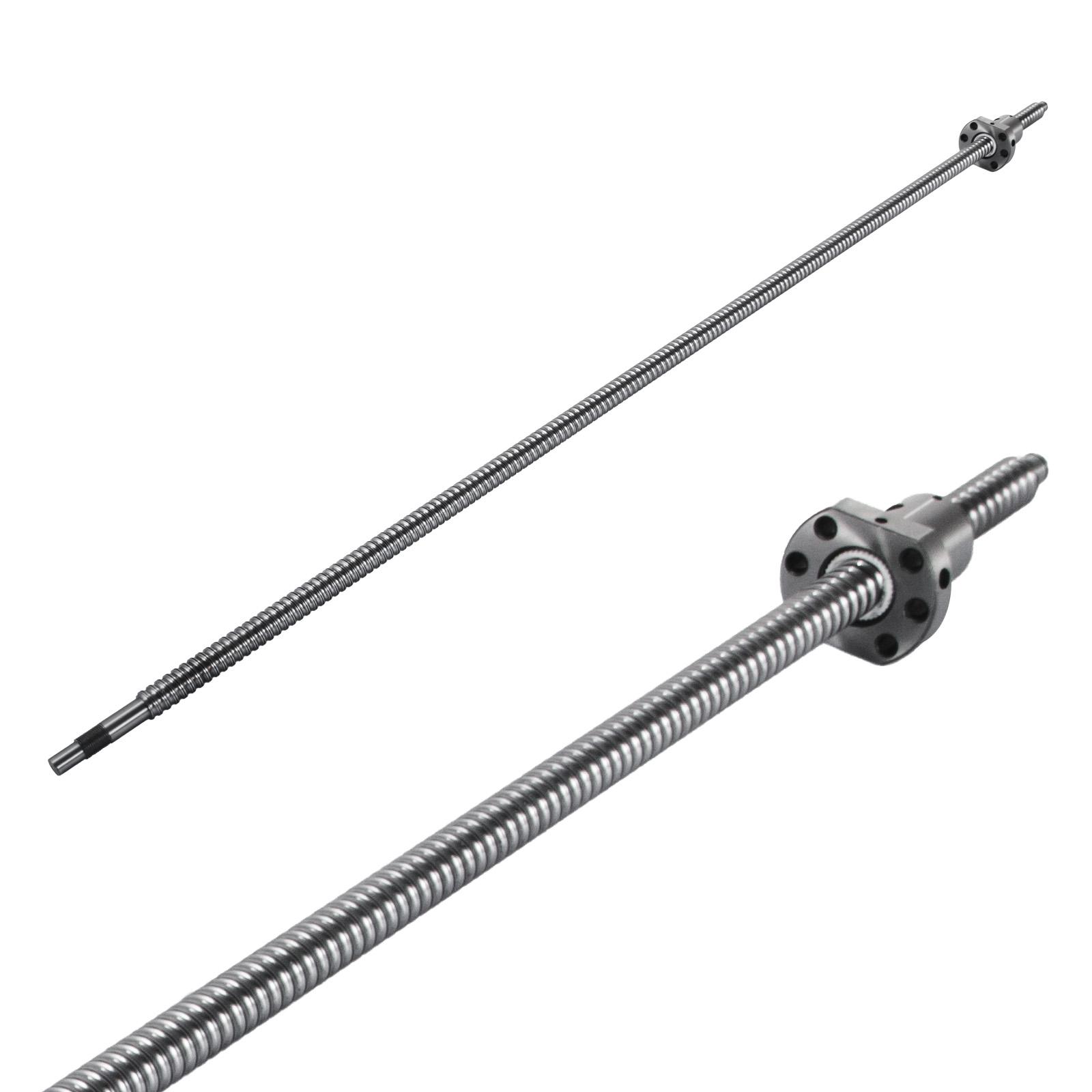 1 Set RM1605-1000mm Anti-backlashed Ballscrew&BF12/BK12