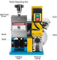 details about 220v powered electric wire stripping machine cable stripper automatic peeler [ 1600 x 1600 Pixel ]