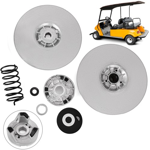 small resolution of details about yamaha gas golf cart driven clutch kit g2 g22 secondary power g16 heavy duty