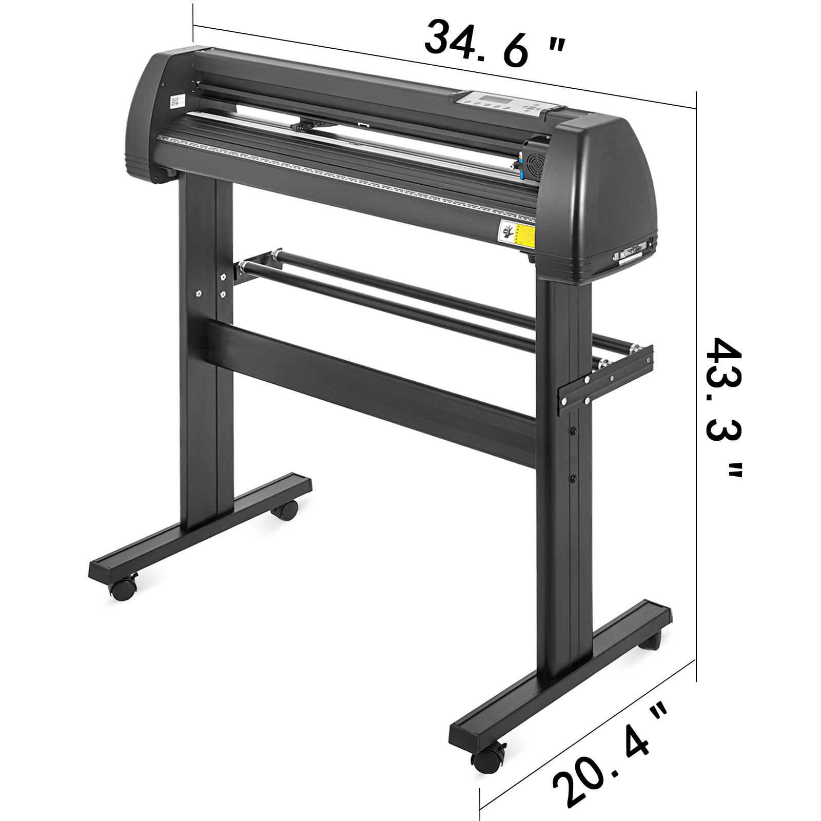Vinyl Cutter Plotter Cutting 14283453 inch 3 Blades WTable Signmaster  eBay