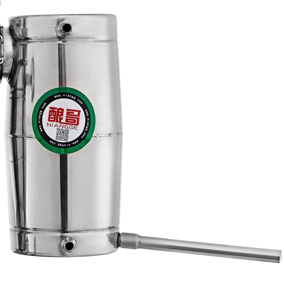 20L Alcohol Stainless Distiller Brew Kit Home Moonshine Still Wine Making Boiler