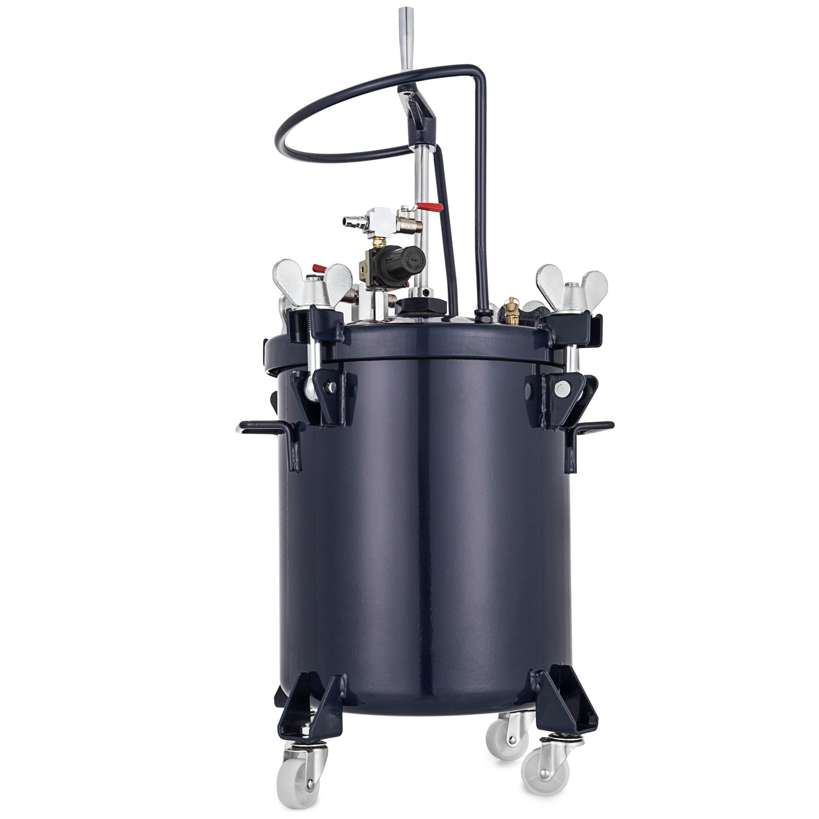 Commercial 2.5 5 8 10 Gallon Spray Paint Pressure Pot Tank