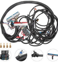 details about pop 99 03 t56 psi standalone wiring harness dbc with ls1 intake car [ 1600 x 1600 Pixel ]