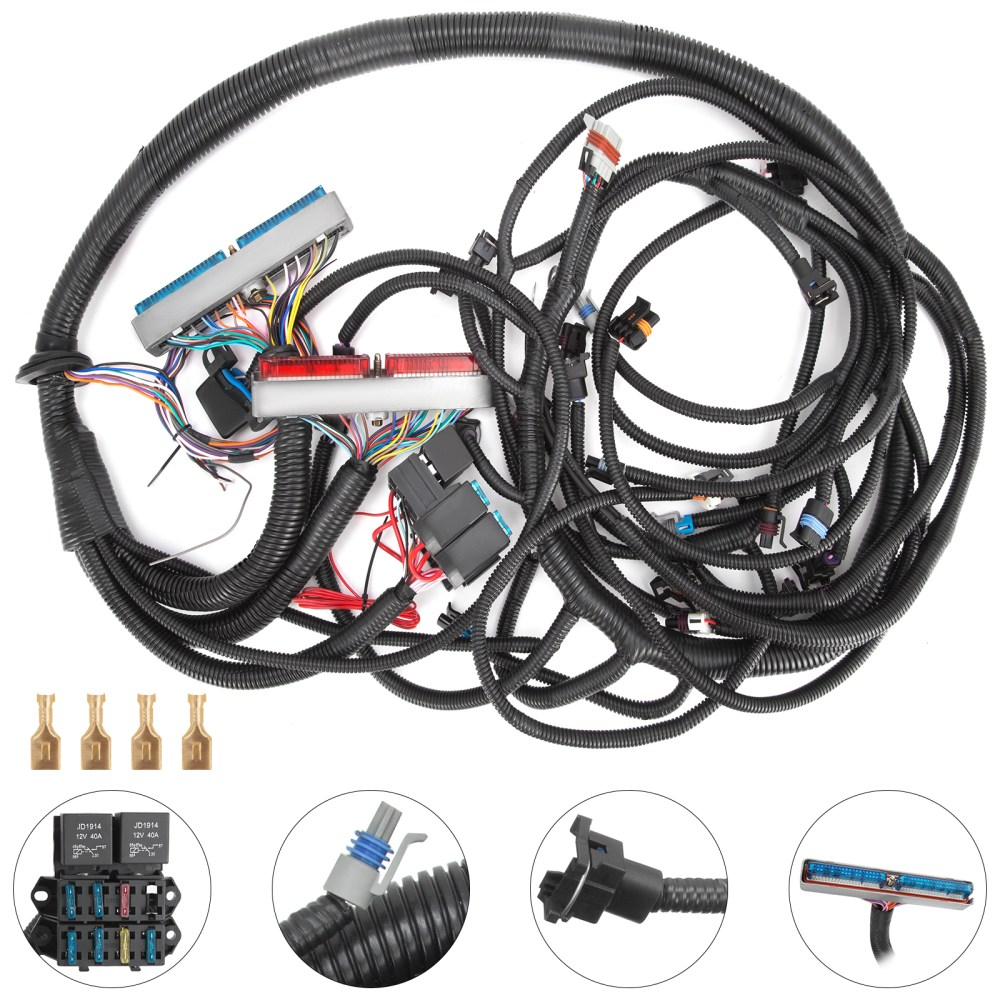 medium resolution of details about pop 99 03 t56 psi standalone wiring harness dbc with ls1 intake car