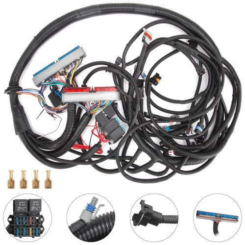 small resolution of details about pop 99 03 t56 psi standalone wiring harness dbc with ls1 intake car