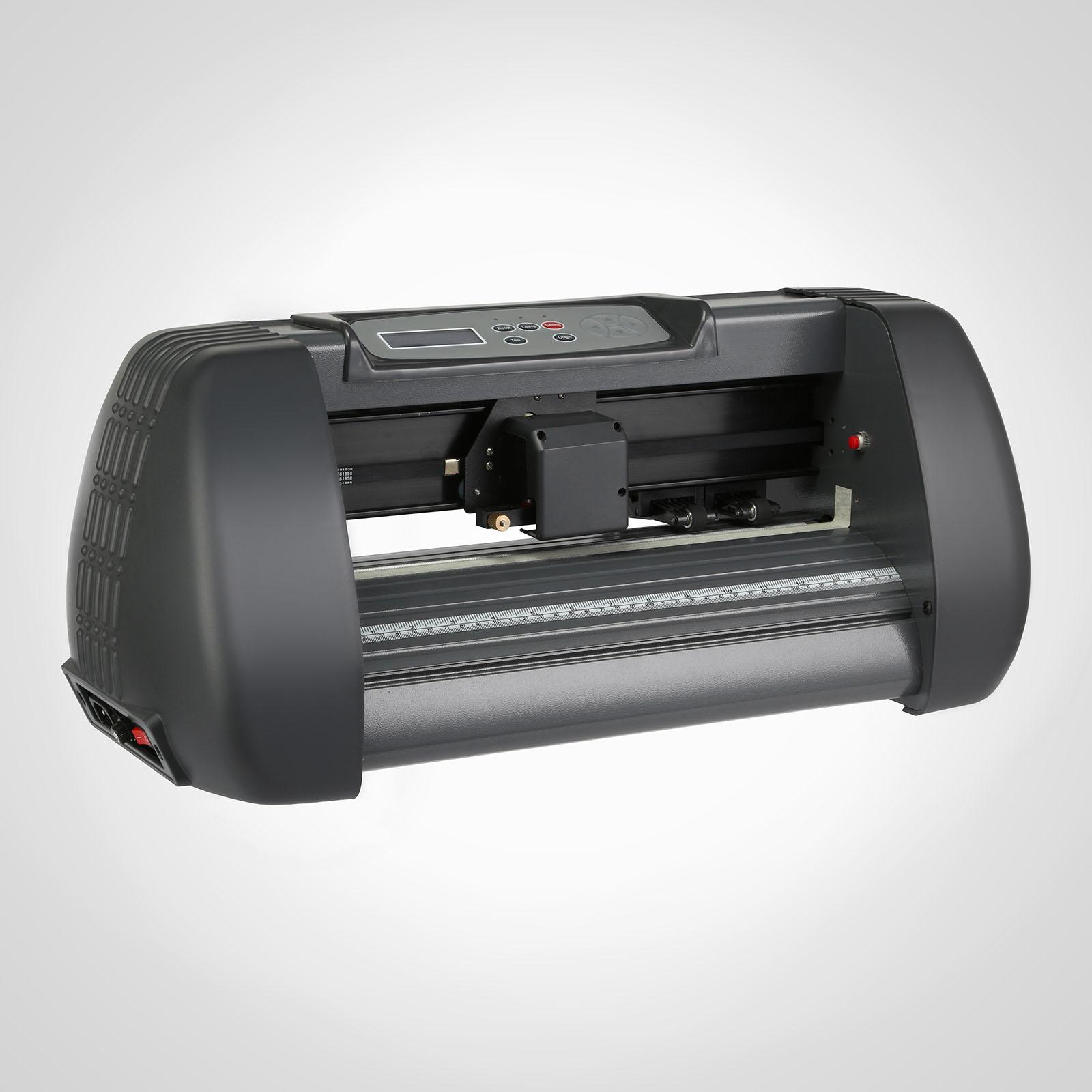 14 Vinyl Cutting Plotter Printer Cutter Sign Maker w Solfware Heat Transfer  eBay