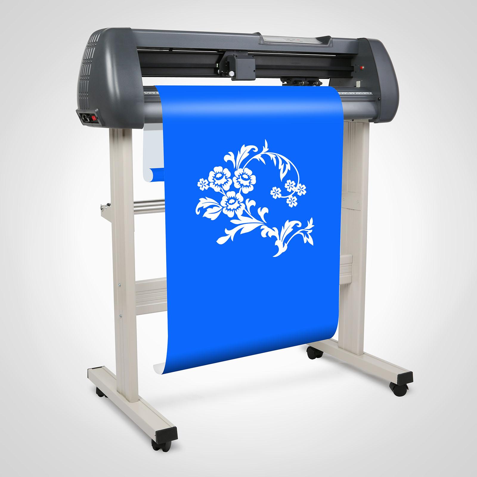 28 Vinyl Cutting Plotter Sticker Sign Printer Cutter w Artcut Software  eBay
