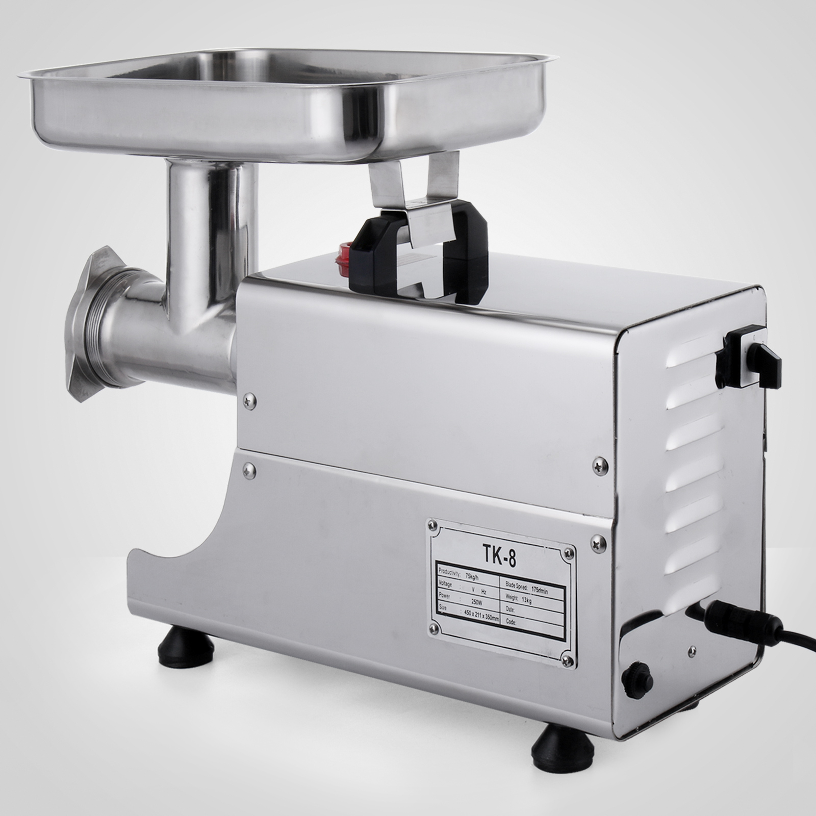 electric grinder kitchen cabinets san antonio heavy duty stainless steel meat