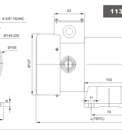 90v dc motor 1 3hp 56c frame 1750rpm speed tefc permanent magnet with removable base our 90v dc motors are generally used for equipment such as wire  [ 1364 x 608 Pixel ]