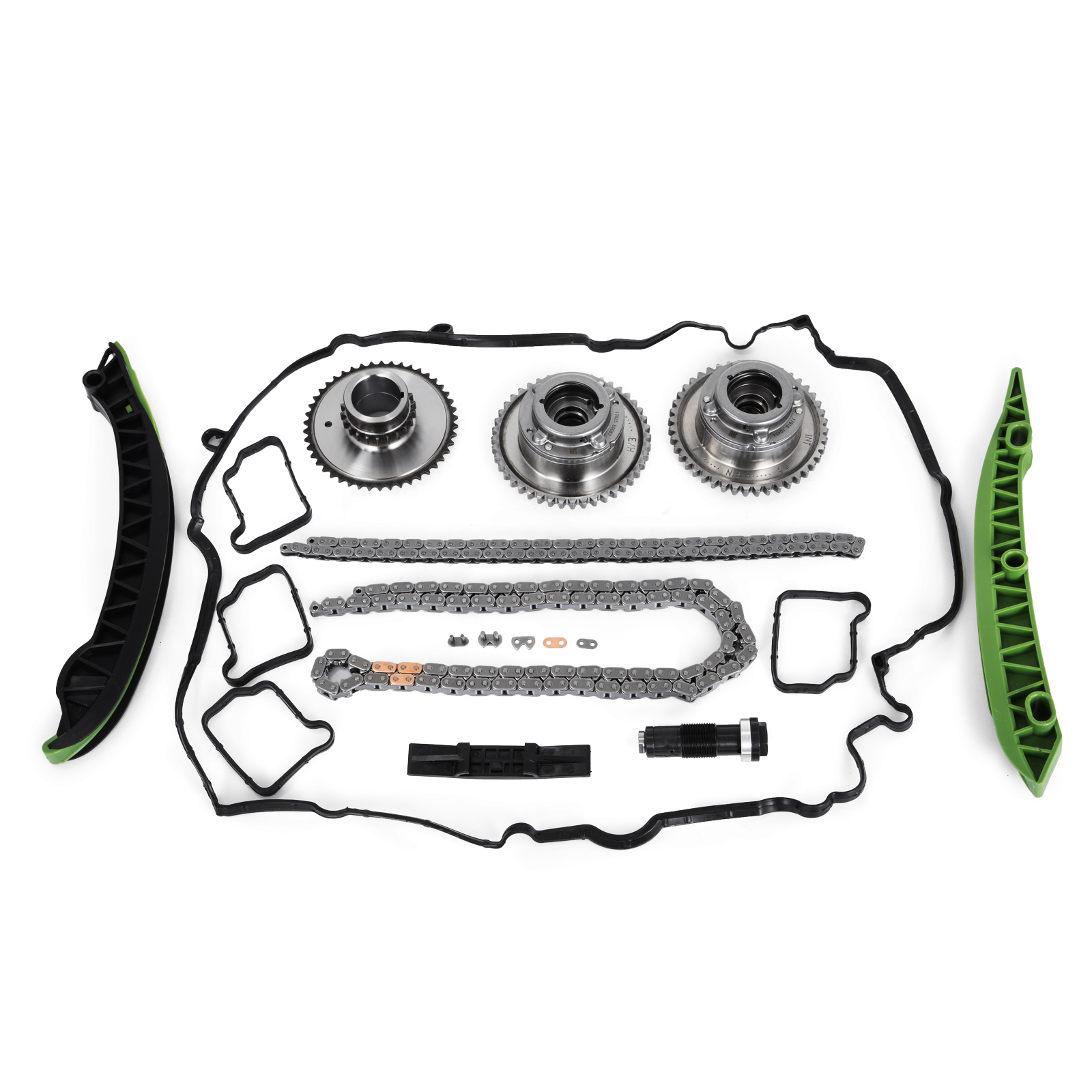 Timing Chain Kit + Camshaft Adjuster For Mercedes W204