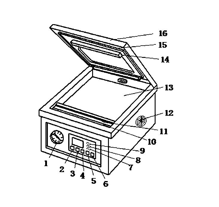 110V/220V Automatic Vacuum Sealer Food Vacuum Sealing Food