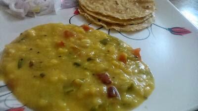 Masoor dal curry