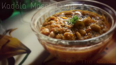 Kadala Masal curry | Side dish