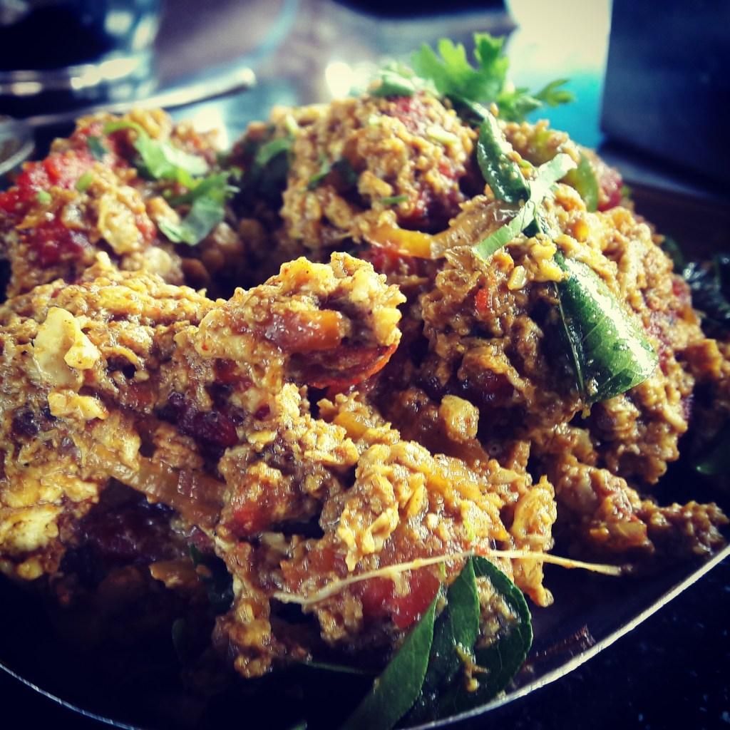 Chettinad cuisine @ Royal Chettinad