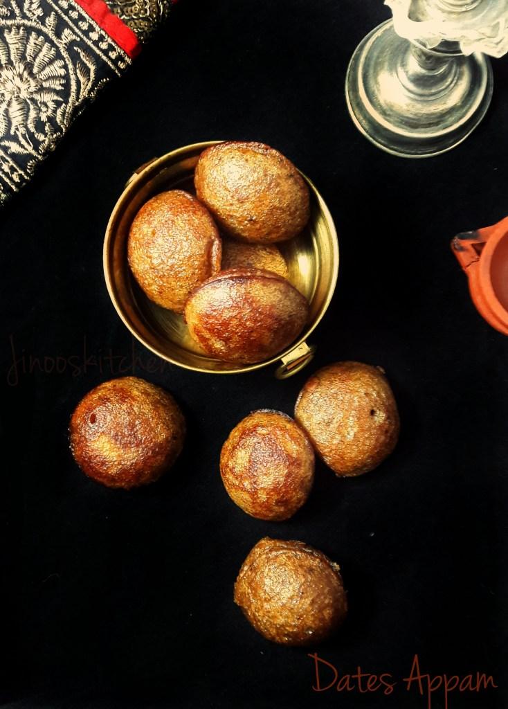 Dates Appam ~ Healthy Festive sweet recipe