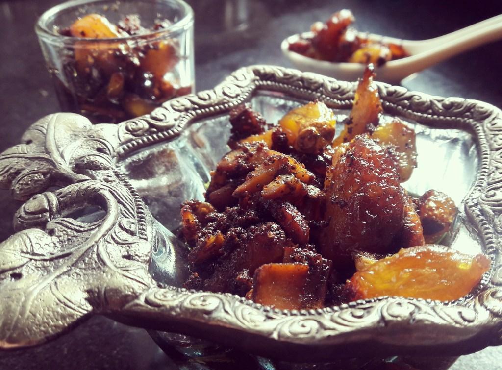 Garlic coconut pickle – postpartum recipes indian