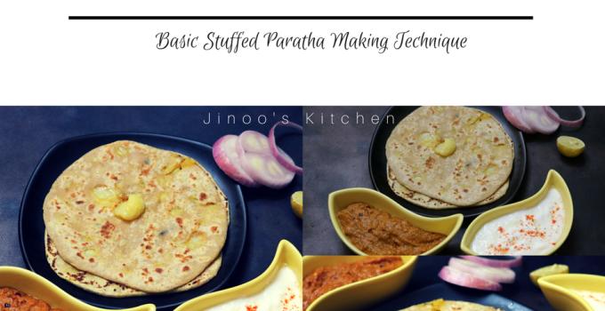 Stuffed Aloo Paratha recipe ~ Video recipe