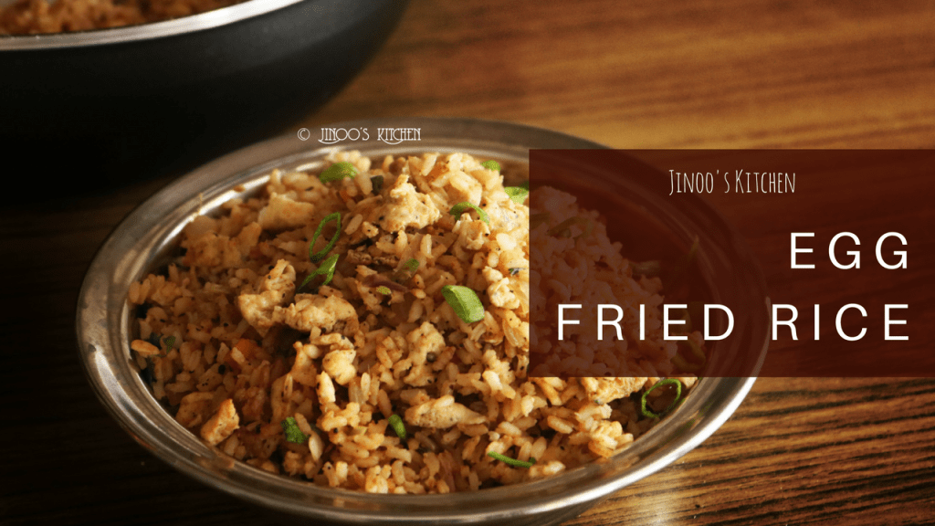 Egg fried rice recipe Indian | Egg rice with leftover rice