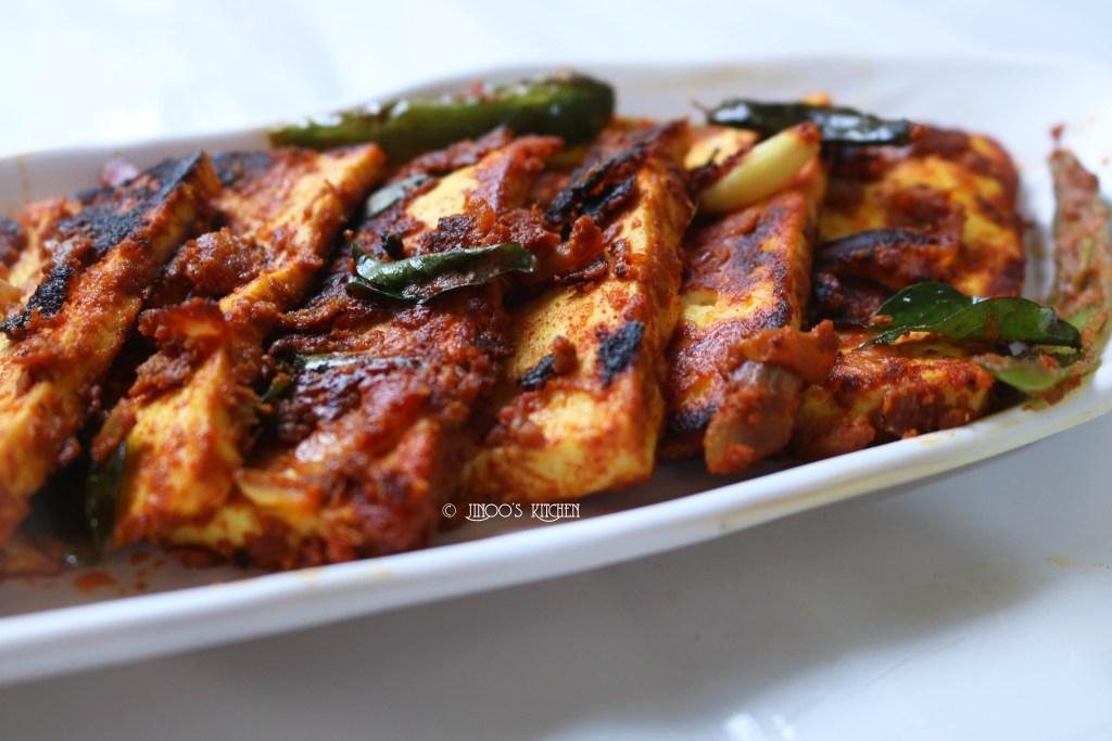 Paneer roast recipe | Spicy Paneer fry recipe