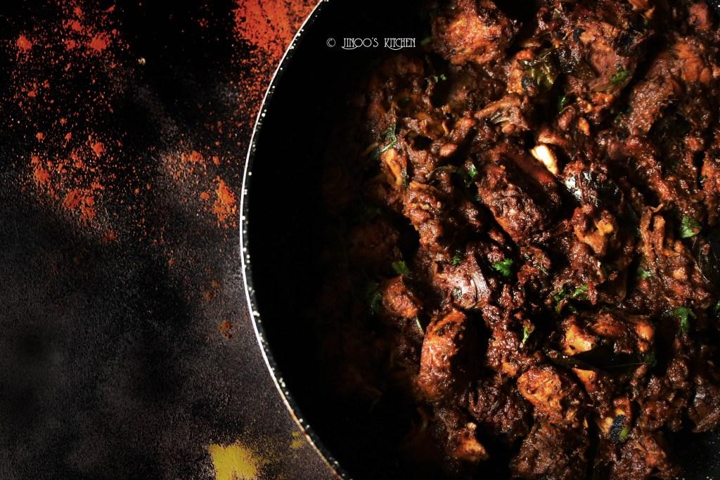 Chicken roast recipe Keralastyle | Nadan Chicken peralan
