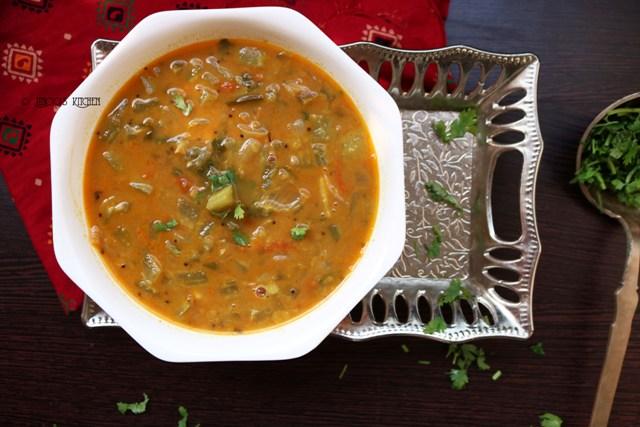 Snake gourd dal curry | Padavalanga Parippu Curry