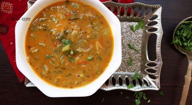 Snake gourd dal curry   Padavalanga Parippu Curry