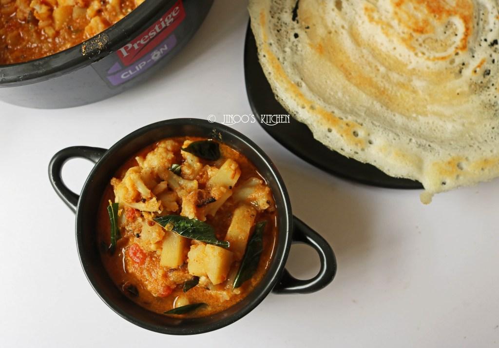 Cauliflower curry recipe | how to make cauliflower curry for rice | Gobi curry recipe
