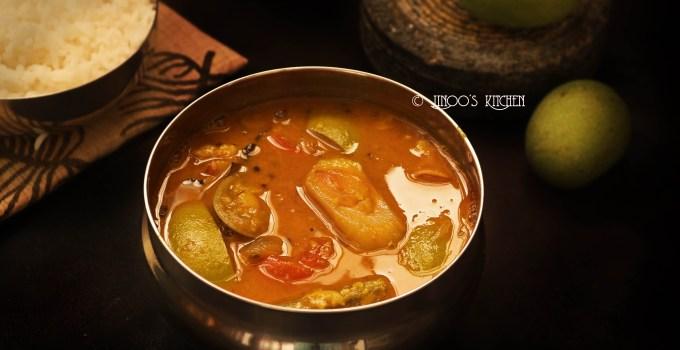 Drumstick Mango Sambar recipe | mangai sambar | how to prepare sambar
