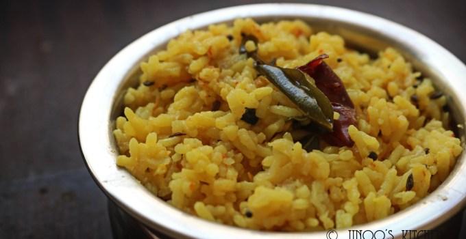 Arisi paruppu sadham recipe coimbatore style | Kongunad Dal rice | Paruppu sadam