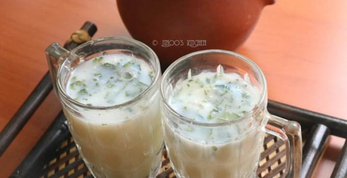 neer mor recipe | spiced buttermilk recipe from scratch