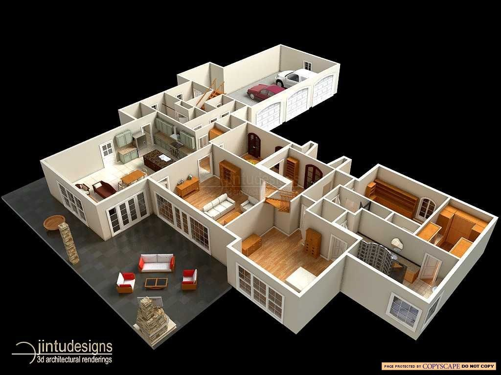Large Kitchen Layout Plans