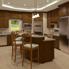 Model Kitchens Best Kitchen Countertops Bathroom - 3d Renderings |