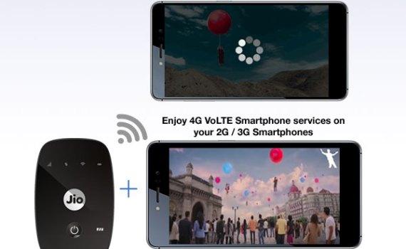 How to make phone calls using jiofi2 router