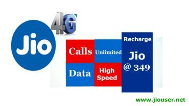 Jio 349 recharge Plan Details Online