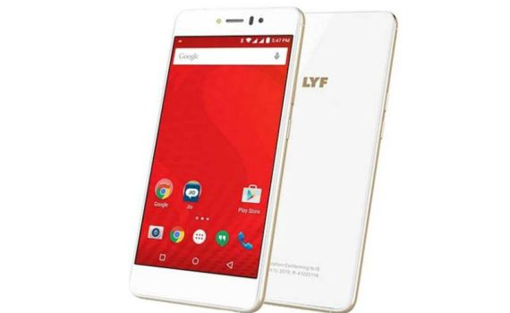 Lyf mobile water 8 White