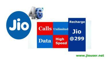 Jio 299 Recharge Plan Details