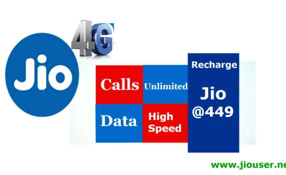 Jio 449 recharge offer