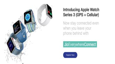 Reliance Jio offer on Apple Watch Series 3