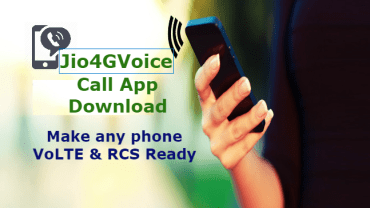 Jio 4G Voice Call App Download