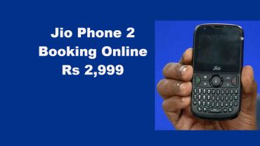 Jio phone 2 Flash Sale Date